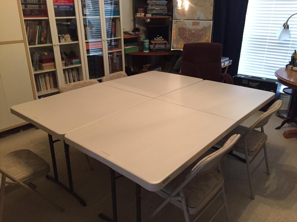 Costco Heavy Duty Folding Tables