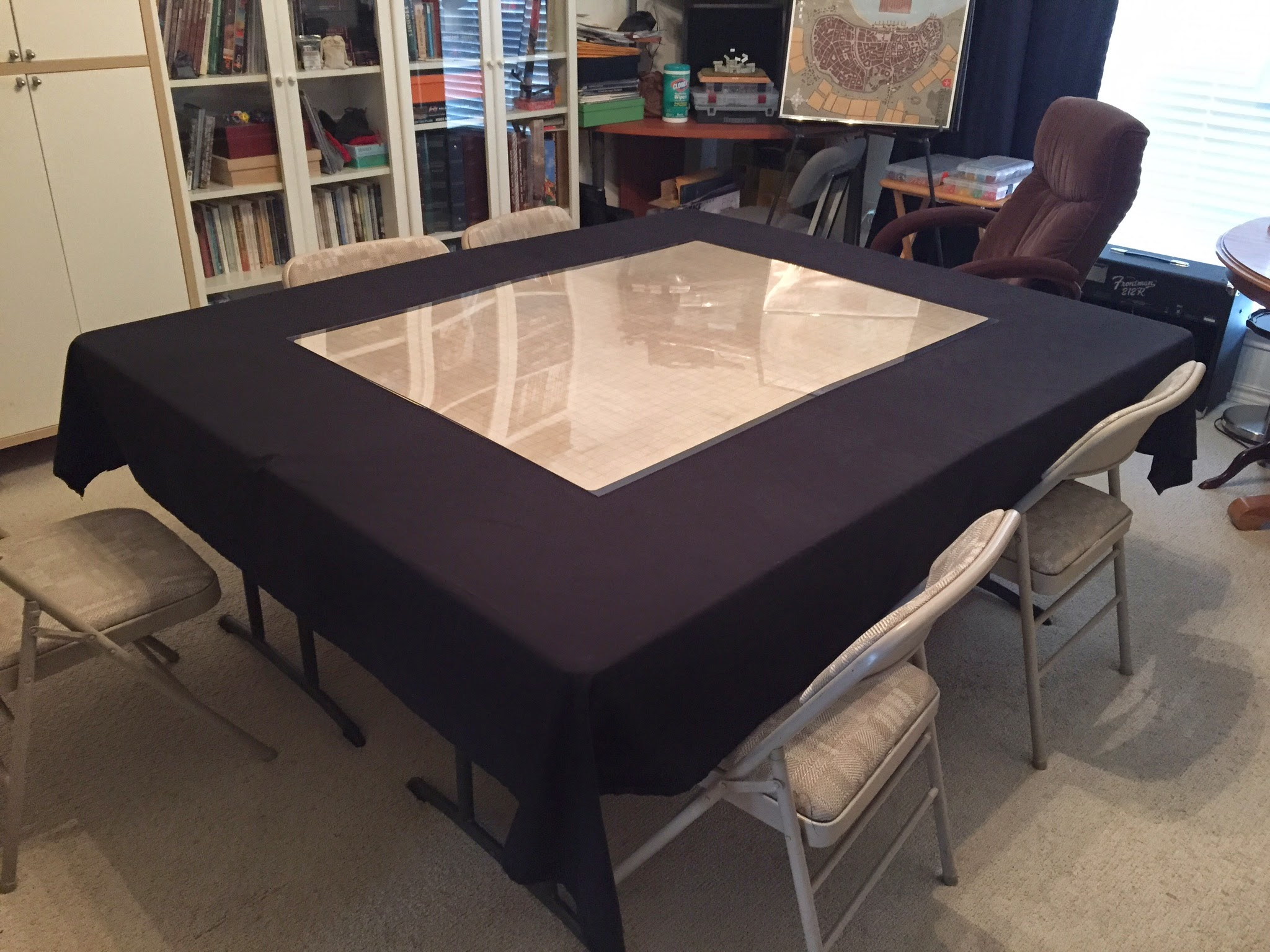 Creating a Stowable Gaming Table