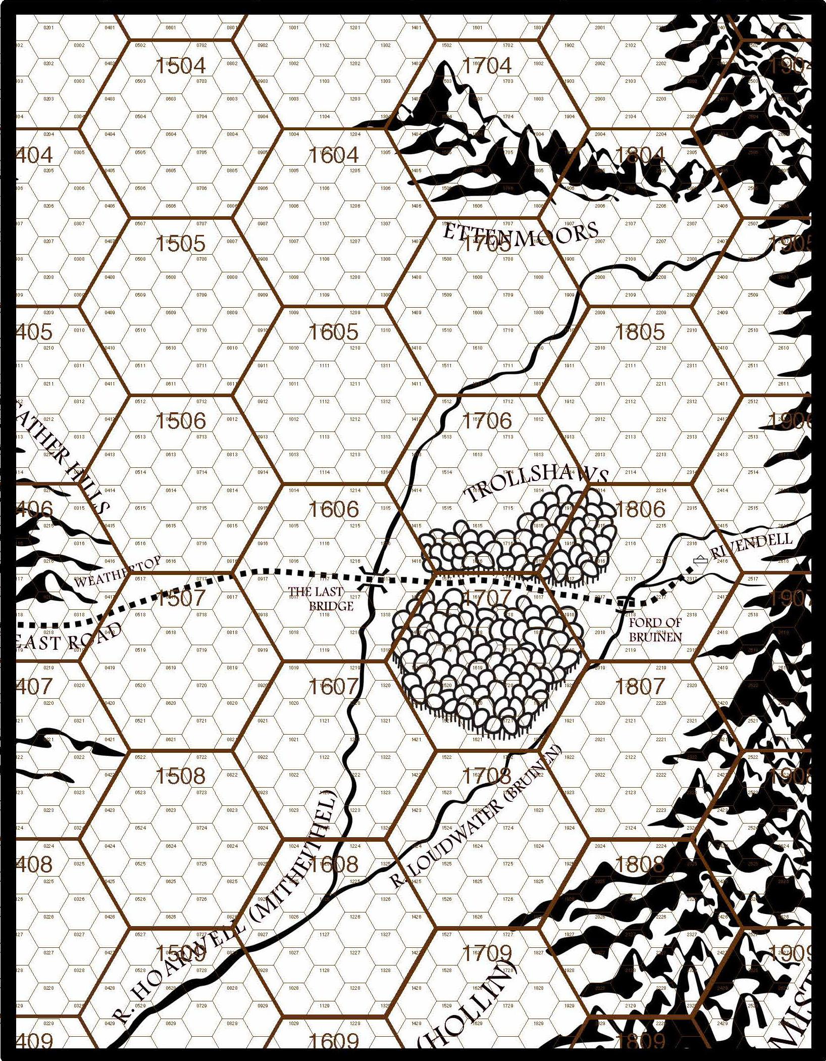 MERP Hex Map 2b