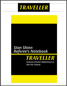 Stan Shinn Traveller Planner Cover